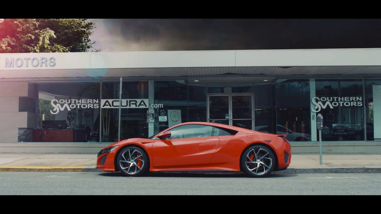 Acura Nsx 2017 Commercial Southern Motors Acura Youtube