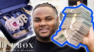 Tee Grizzley Cops New Jewelry For The Grizzley Gang