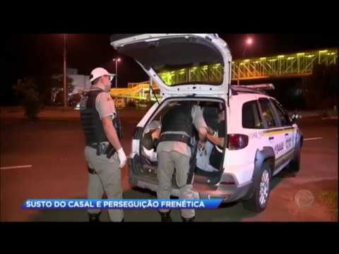 Perseguição policial termina com quatro suspeitos presos