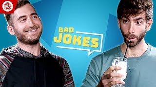 Brothers Green Eats | Bad Joke Telling