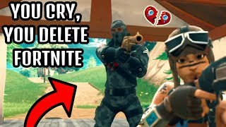 Saddest Moments in Fortnite #67 (TRY NOT TO CRY) [SEASON 5]