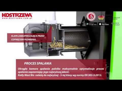 Poznaj kocioł na pellet KOSTRZEWA MAXI BIO - Lava/Olimp pellets poleca!