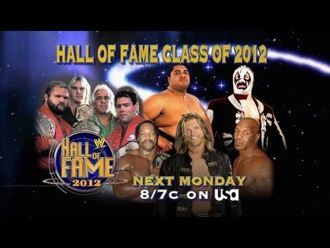 WWE 2012 Hall of Fame: Monday at 8/7 CT on USA Network