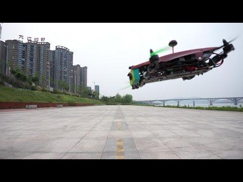 79 MPH Quadcopter OFM Hyper 330 High Speed Flight Testing