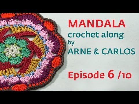 How to Crochet a Mandala. Part 3 by ARNE & CARLOS