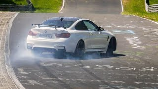 Nordschleife Touristenfahrten #101 Highlights & CRASH, Drift & Action! - Nürburgring