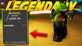 *New Codes* UNLOCKING THE (LEGENDARY) KATANA | ROBLOX: Treasure Quest