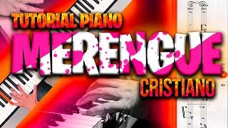 Piano Tutorial Como tocar merengue en coritos de iglesia / Musica Cristiana