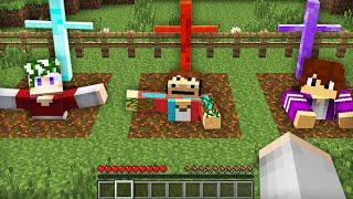 РАЗРЫЛ МОГИЛЫ КОМПОТА ПИКСЕЛЯ И ТОПОВСКОГО В МАЙНКРАФТ 100% Троллинг Ловушка Minecraft