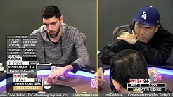 Korean Poker Star BATTLES WPT Player of the Year ♠ Live at the Bike!
