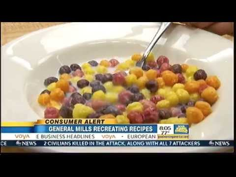General Mills Eliminates Artificial Colors, Flavors From Cereal Line