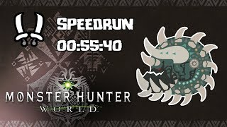 "MHWorld - Speedrun - Radobaan Arena Quest 0""55'40 4 Blast DB"
