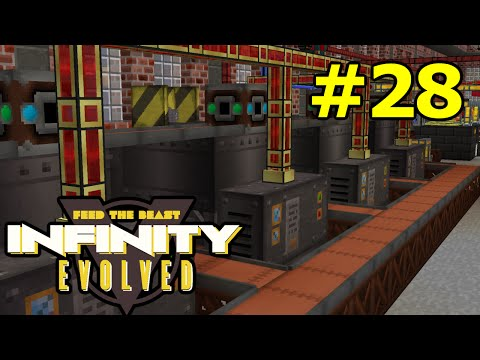 ftog S3E28 - Quarry and Factory Ore Processing - FTB Infinity Evolved (Expert Mode)