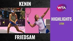 Sofia Kenin vs. Anna-Lena Friedsam | 2020 Lyon Final | WTA Highlights