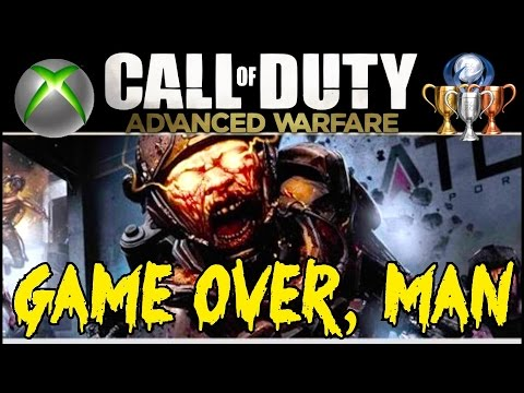 EXO ZOMBIES: Easter Egg Compilation!▐  GAME OVER, MAN! Achievement Guide