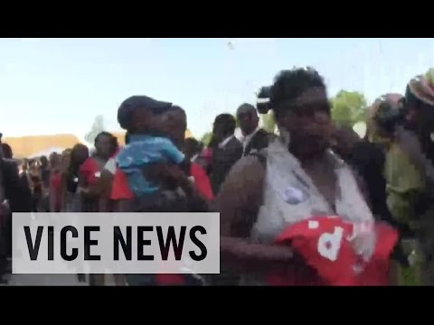 RAW COVERAGE: From the Funeral for Mike Brown