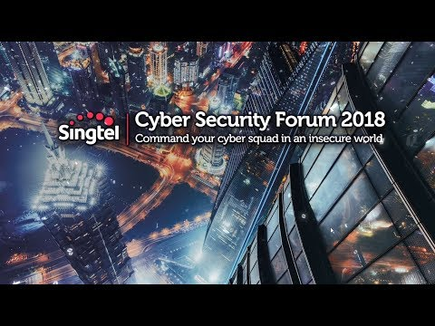 Opening video of Singtel Cyber Security Forum 2018