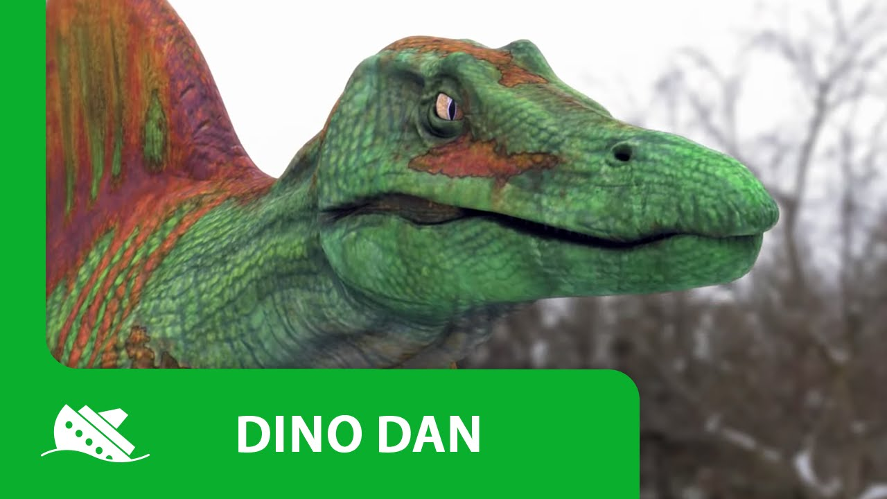 Dino dan spinosaurus promo youtube - Dinosaure diplodocus ...