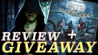 REVIEW + GIVEAWAY- Fate of the Elder Gods