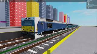 Trains At: Ben City Central (ROBLOX)