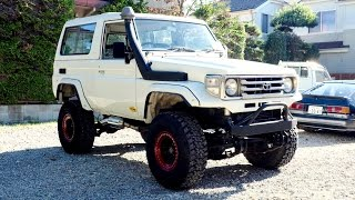 1987 Land Cruiser 70 Diesel (BJ74) FRP Top (USA Import) Japan Auction Purchase Review