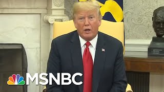 President Donald Trump Kisses And Makes Up With Head Of EU | Velshi & Ruhle | MSNBC