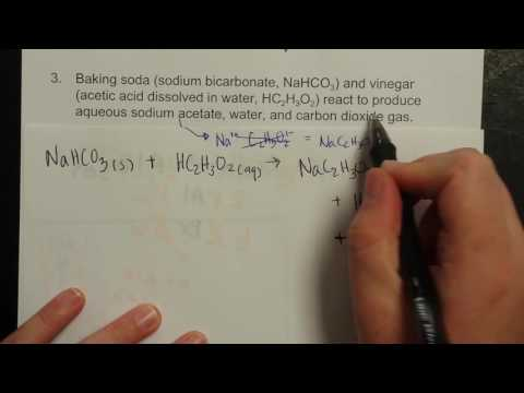 BALANCING CHEMICAL EQUATIONS -  Sample Problem 3 - (slide 9)