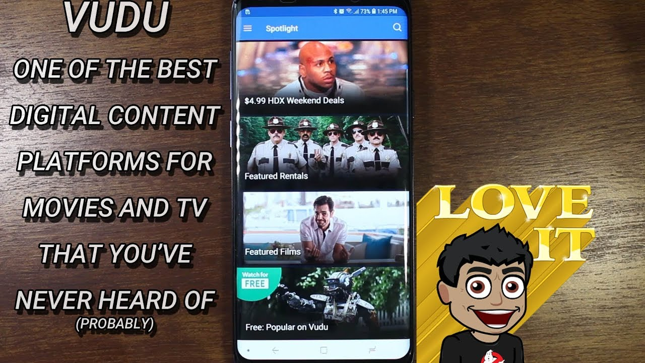 Download Vudu - Movie and TV Show Streaming Service and Store