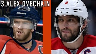 5 NHL PLAYERS THAT LOOK NOTHING LIKE THEIR VIDEO GAME SELF (NHL 16)