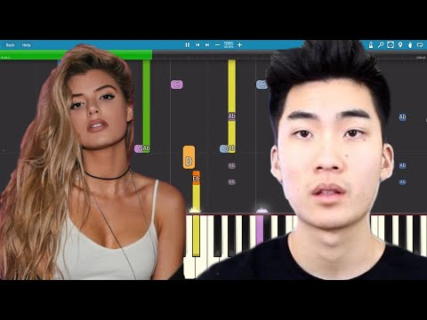 RiceGum - It's EveryNight Sis - Instrumental Remix - Piano Cover
