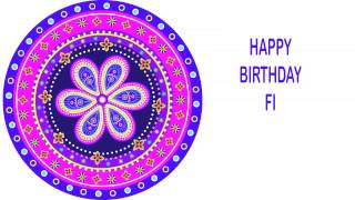 Fi   Indian Designs - Happy Birthday