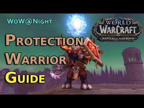Protection Warrior Guide - [8.0] BFA Launch