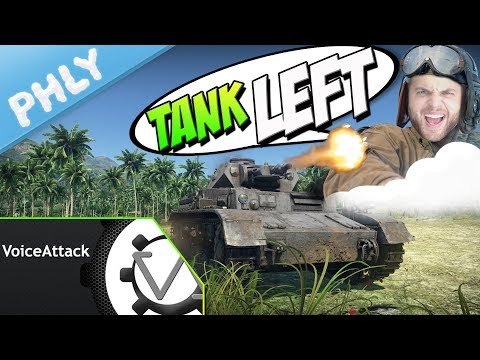 Controlling A TANK WITH MY VOICE - Voice Attack (War Thunder Tanks Gameplay)