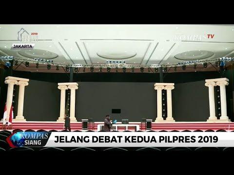 Persiapan Jelang Debat Kedua Pilpres 2019