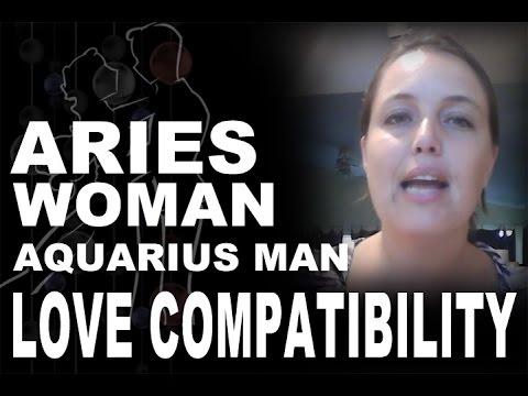 Aries woman dating aquarius man