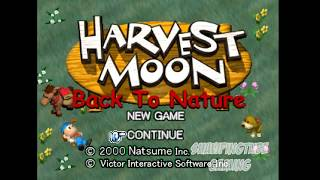 Let's Play Harvest Moon: Back To Nature Walkthrough Gameplay Part 1