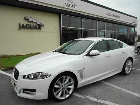 Jaguar XF Sport Pack Portfolio Polaris White Ivory - Ravenna Info  0544-502465 YouTube