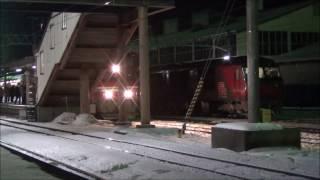 カシオペア紀行北海道ラストラン五稜郭駅にて 画質悪くてごめんなさい.