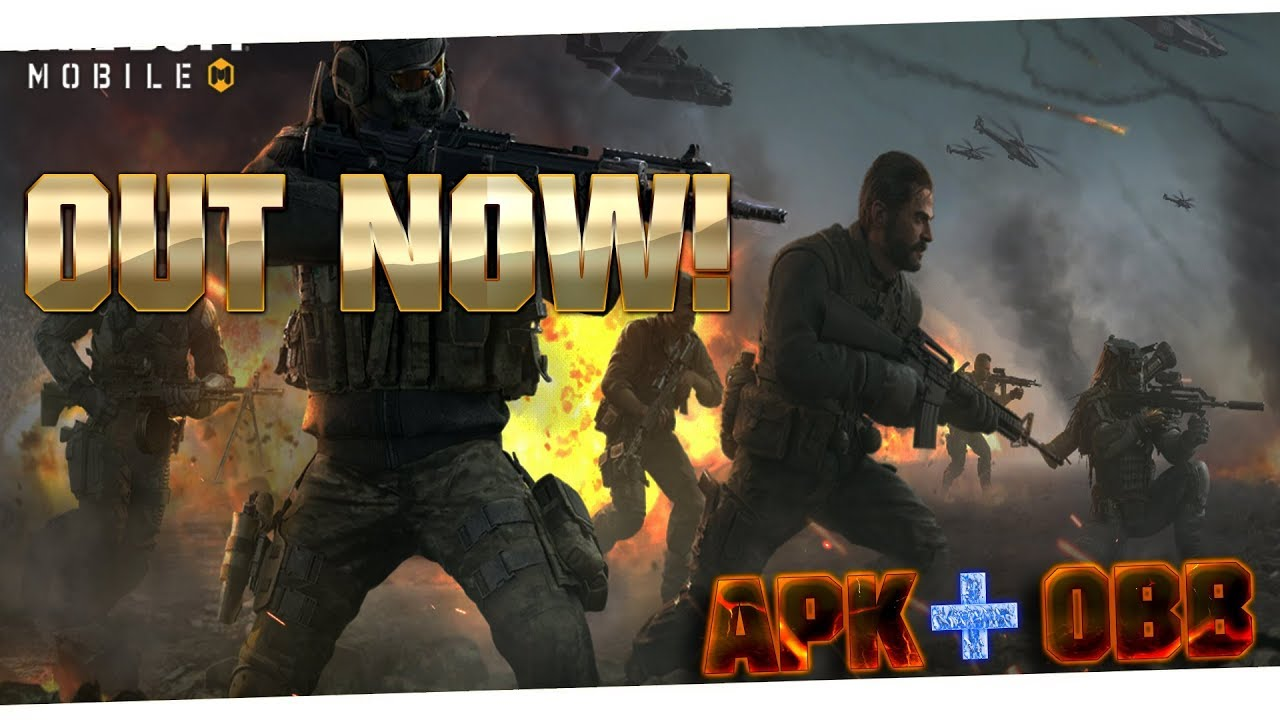 Call of Duty Mobile Beta | OUT NOW! | APK/OBB DOWNLOAD TUTORIAL + GAMEPLAY  #Smartphone #Android