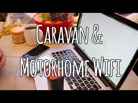 Caravan & Motorhome WiFi options