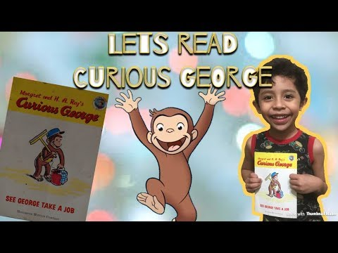 "T.R.F. Tv Channel ""Curious George - See George Take A Job"" (Read Out Loud)"