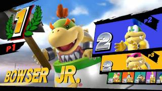 what if 8 bowser jr collided
