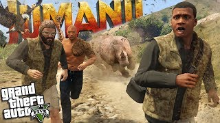 The END of JUMANJI in Los Santos (GTA 5 Mods)