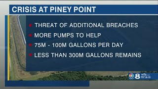 Piney Point crisis striking concerns in other Tampa Bay communities with gypsum stacks