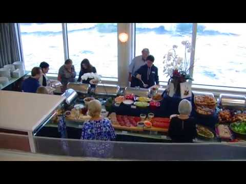 High Tide Breakfast At The Marine Room Youtube