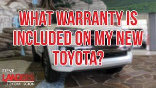What Warranty is Included on My New Car? | Steve Landers Toyota in Little Rock, Arkansas