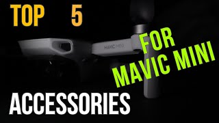 TOP 5 accessories for DJI Mavic Mini 2020 - What you really need - [Mavic Mini 1 accessories]