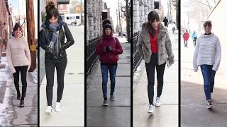 Cropped Jeans With Socks - How To Wear It Well