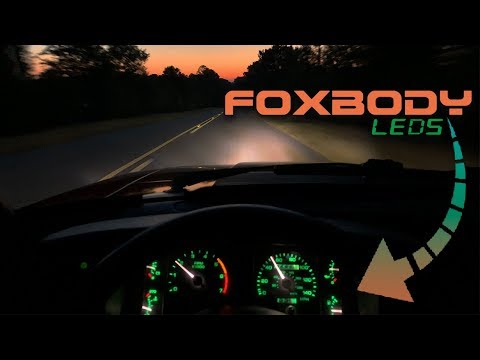FOXBODY CLUSTER F**K / Common Cluster Issues And LED Install