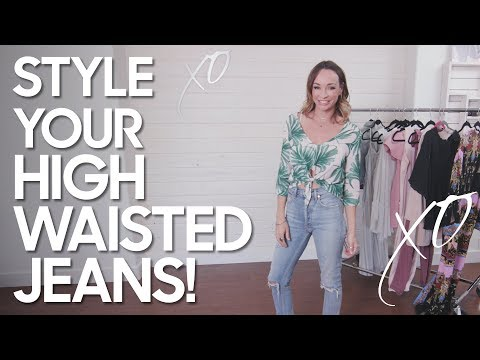 How to Style  High Waisted Jeans. http://bit.ly/2WDEyq3